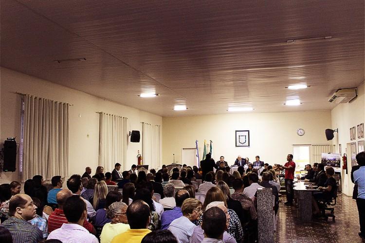 09/05/2015 – Orquestra de Violões na Câmara Municipal de João Neiva, Aniversário de João Neiva