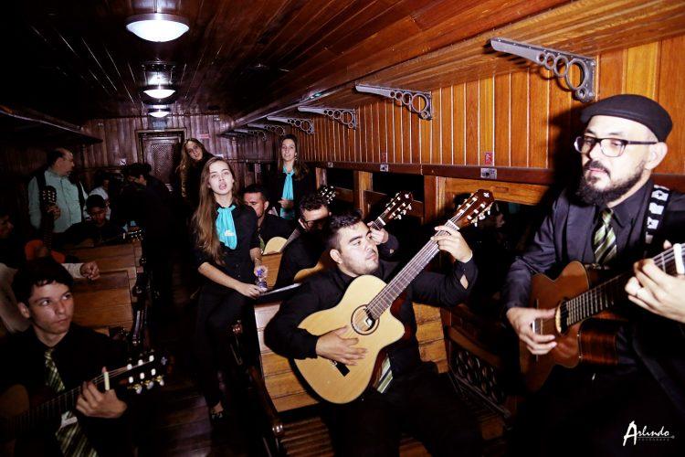 Turnê da Orquestra de Violões em Minas Gerais.
