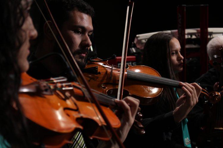 03/08/2017 – Orquestra de Violões e Orquestra de Cordas na ExpoAgro Vidas 2017 [Aracruz/ES]