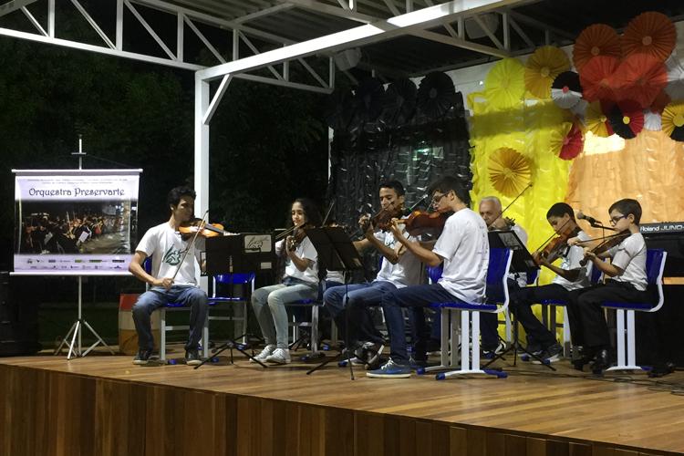 15/09/2017 – Orquestra de Cordas na Semana Cultura do IFES [Aracruz/ES]