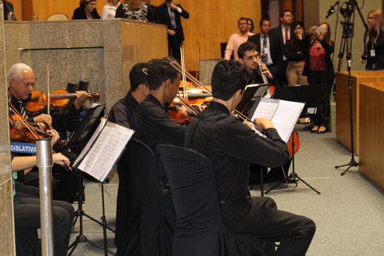 18/09/2017 – Orquestra de Cordas nos 80 anos do Banestes.